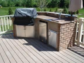 Alfresco Kitchen Designs Update Your Deck With An Outdoor Kitchen Amazing Deck