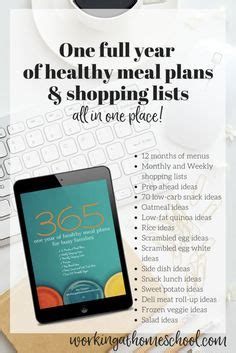 printable grocery list for busy moms 1000 images about thm meal plans on pinterest trim