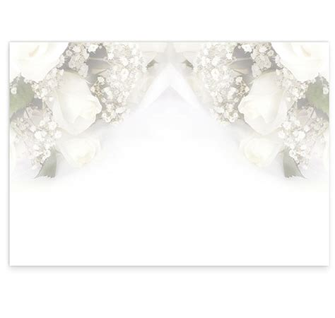 wedding bands and flowers wedding mass booklet cover