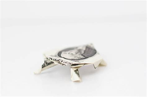 Dollar Bill Origami Turtle - shellebrate world turtle day all for the boys