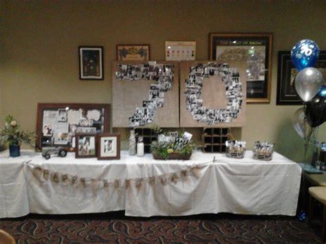 70th birthday decorations party ideas pinterest