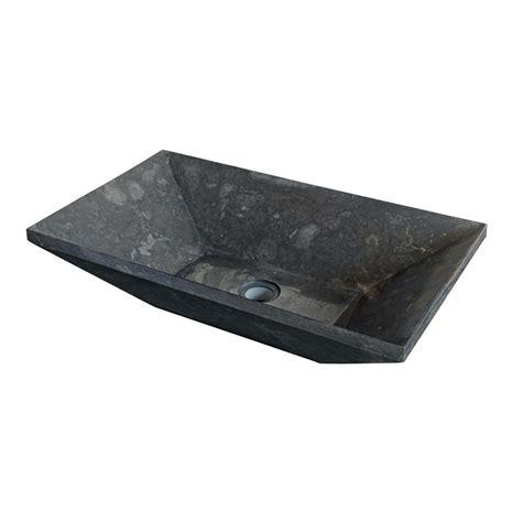 lavelli da appoggio per bagno lavabo da appoggio in pietra naturale nera per bagno wok