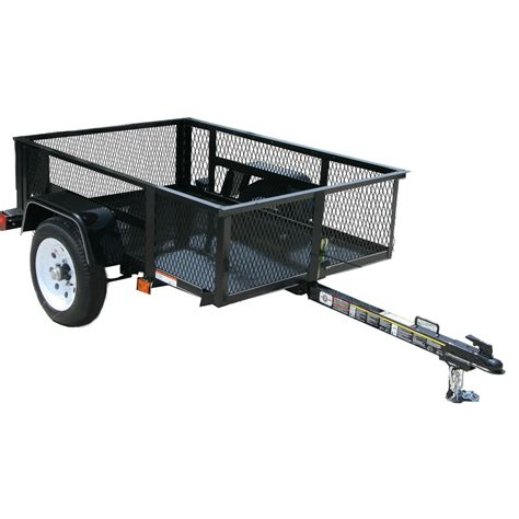 s trailer carry on trailer 2 000 lbs gvwr 3 ft 6 in x 5 ft wire mesh