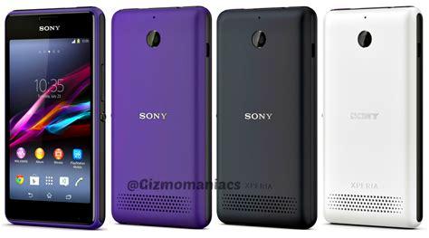 Sony Xperia E1 Hitam sony xperia e1 and e1 dual sim specs and details