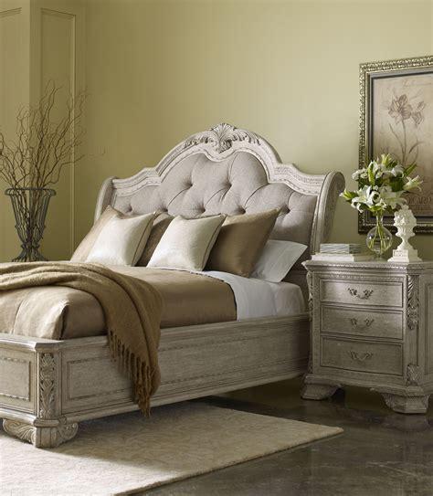 dove grey bedroom furniture renaissance dove grey sleigh upholstered bedroom set from