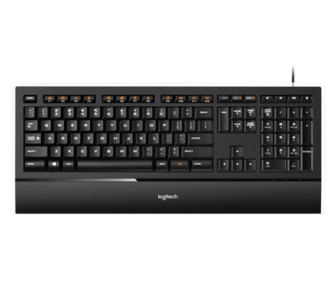 Keyboard Logitech illuminated keyboard k740 slim design and backlit en us