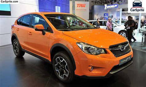 price of subaru xv subaru xv 2017 prices and specifications in car sprite