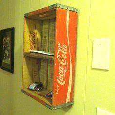 diane keys coca cola home decor crate ottoman vintage coca cola and crates on pinterest