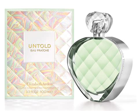 Parfum Ori Elizabeth Arden Untold For Edp 100ml Tester untold eau fraiche elizabeth arden perfume a new fragrance for 2015