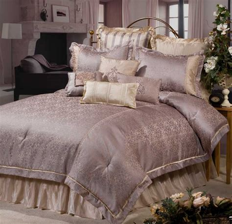 luxurious comforters wisteria bedding ensemble by veratex