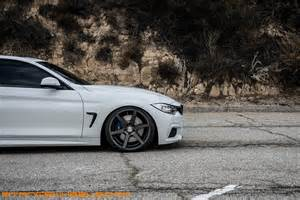 White Truck Grey Wheels Bmw 435i F32 On Stance Sc 6 Slate Grey Stance Wheels