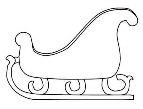 Sleigh Coloring Page print template category page 253 sawyoo