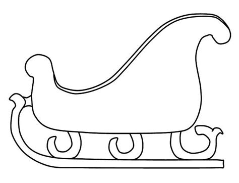coloring pages of santa sleigh print template category page 253 sawyoo com