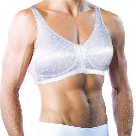 a breast enlargement breakthrough feminization male male breast feminization bra for men holds silicone breast