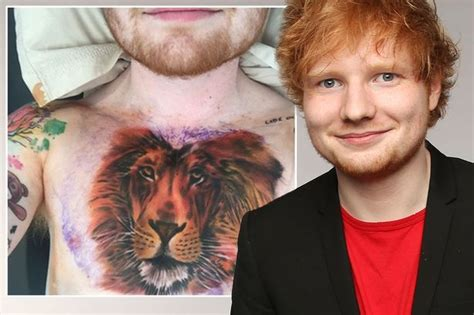 ed sheeran tattoo aniston friends free ed sheeran s tat not for
