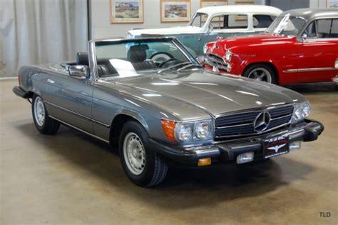 accident recorder 1984 mercedes benz sl class auto manual sold cars