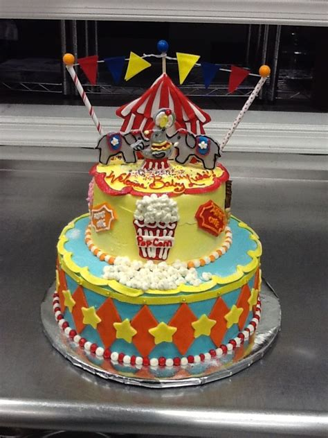 Circus Themed Baby Shower Cakes by 36 Best Baby Shower Cakes Images On Baby