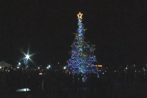 what tree holds lights better columbia co to hold tree lighting at towne cent wbtv