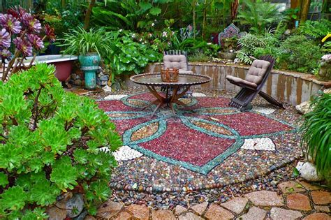 Patio Mosaic Ideas Small Patio Ideas J Birdny