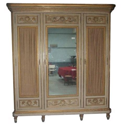Three And An Armoire by Paint And Gilt 3 Door Armoire Wardrobe 271836