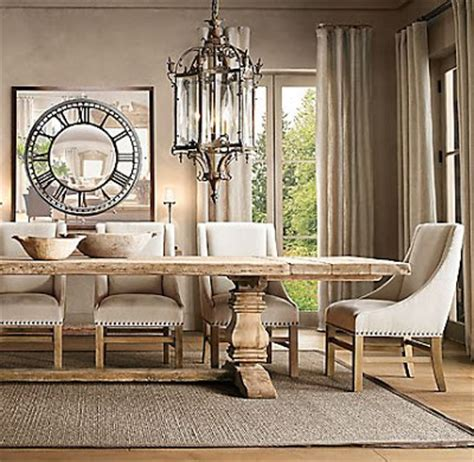 restoration hardware trestle table copy cat chic restoration hardware salvaged trestle