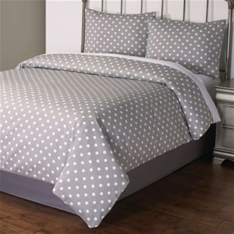 gray polka dot comforter buy polka dot comforter from bed bath beyond