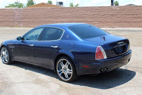 blue maserati 4 door 2006 maserati quattroporte 4 door sedan 197253