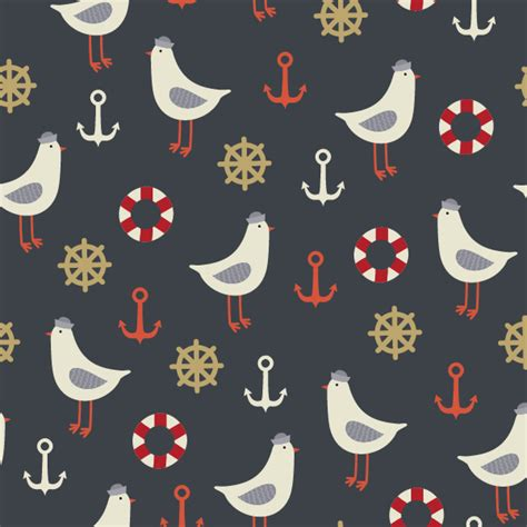 pattern illustrator tutorial how to create a seamless vintage nautical life pattern in