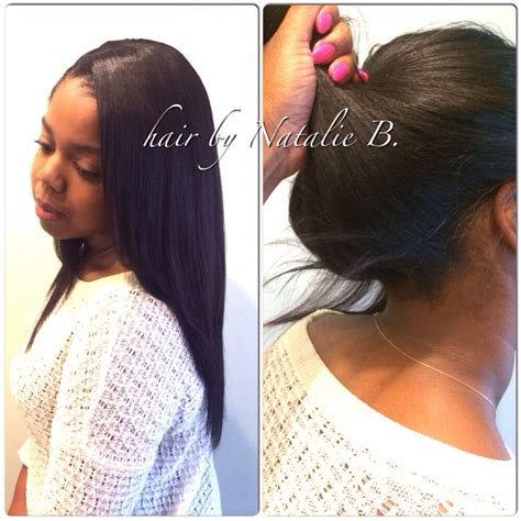 sew in weave ponytail want to pull your weave up into a high ponytail no