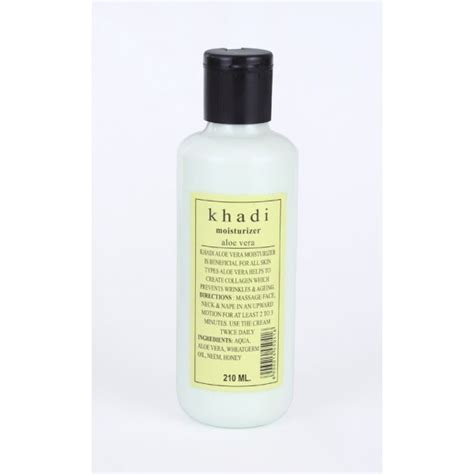 Aloe Vera Free Moisture khadi aloe vera moisturizer paraben free ayurvedique shop