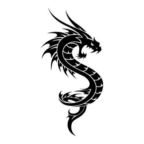 tattoo dragon logo tribal dragon pic of tattoos tattoo from itattooz