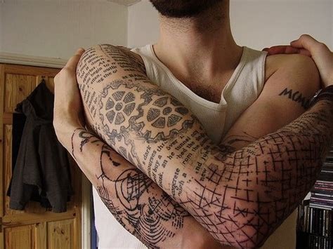 tattoo designs quirky quirky arm tattoo for men styles weekly