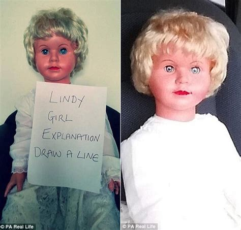 haunted doll peggy 80 in the u k got harmed after