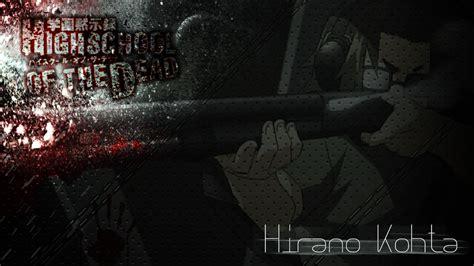 highschool of the dead 31 highschool of the dead hirano kohta wallpaper by ur 31