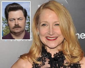 nick offerman the conners parks and recreation exclusive patricia clarkson cast as