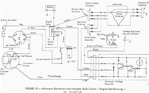 jeep alternator wiring diagram mallory hyfire