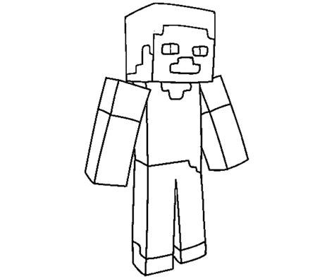 minecraft steve coloring pages free minecraft sty colouring pages coloring kids