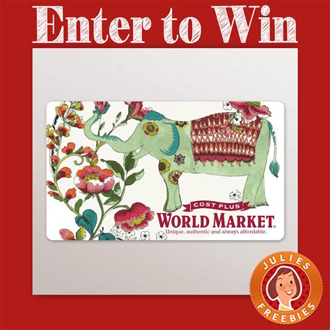 Sweepstakes Prize Entry Center - world market spruce up your space sweepstakes julie s freebies