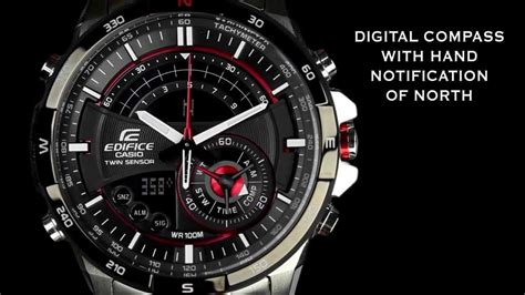 Casio Edifice Era 200 Black official edifice sensor chronograph era 200