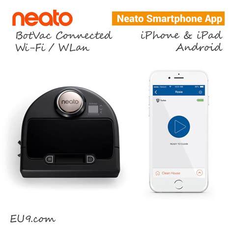 neato connected botvac wifi saugroboter eu robotics