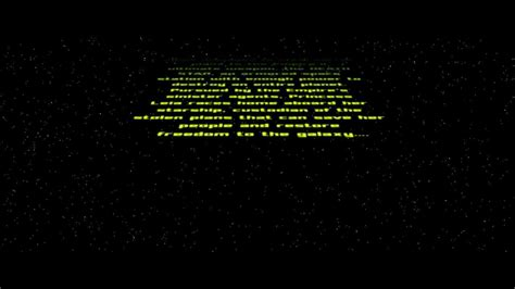Starwars Crawl Text Free After Effects Project Youtube Wars Crawl Powerpoint
