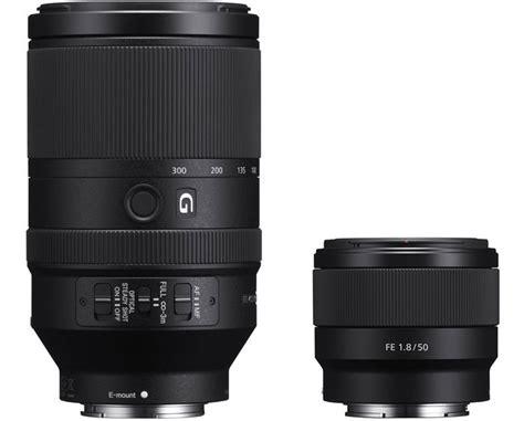 Sony Lens Fe 70 300mm F4 5 5 6 G Oss sony unveils 50mm f 1 8 and 70 300mm g oss frame lenses