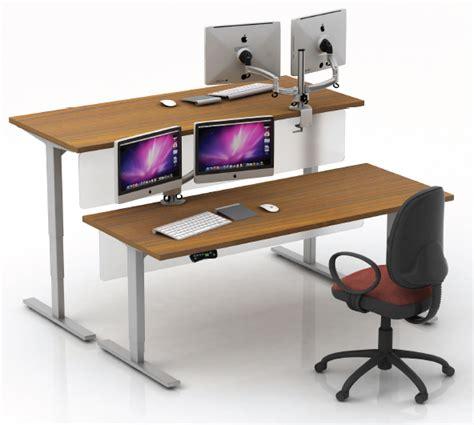Raise And Lower Desk by Raise Lower Desk Best Home Design 2018