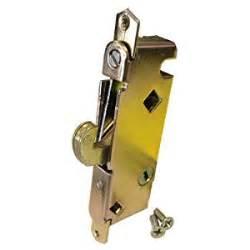sliding glass patio door lock mortise type 45 degree keyway 3 11 16 quot holes door lock