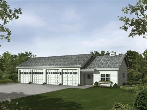 6 car garage plans rainey six car garage and shop plan 009d 7518 house