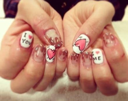 love heart nails tumblr