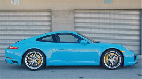 miami blue porsche boxster miami blue 911 s gets lapped for motor trend s bdc