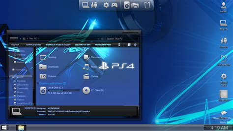 themes ps4 problem playstation 4 ps4 skin pack for windows free download