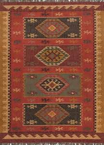 Rustic Area Rugs Southwestern Lodge Bedouin 8 X10 Rectangle Area Rug Rustic Area Rugs By Rugpal