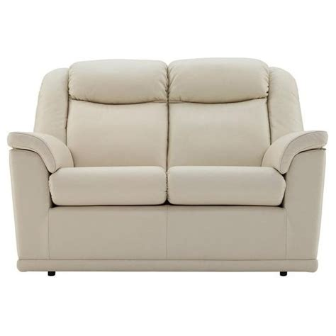 Milton Upholstery by G Plan Milton 2 Seater Sofa In Leather At Smiths The Rink